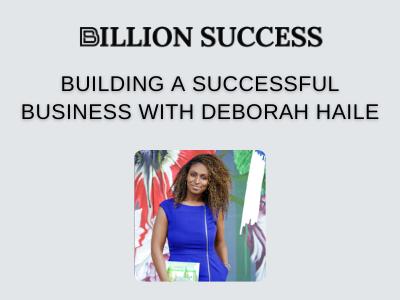 Billion Success feature interview